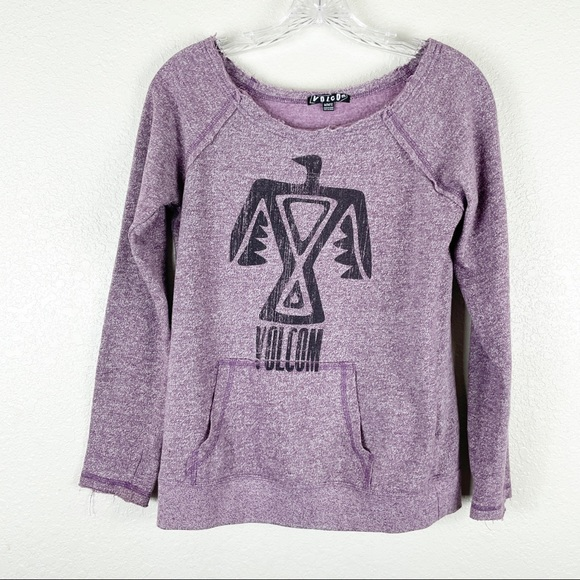 Volcom Scoop Neck Pullover Sweater